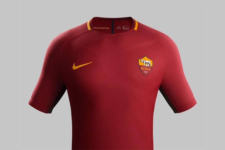ee732d6aebe AS ROMA S NEW NIKE HOME KIT FOR THE 2017 2018 SEASON